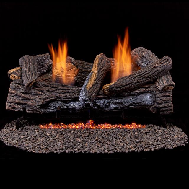 rockwool for fireplace