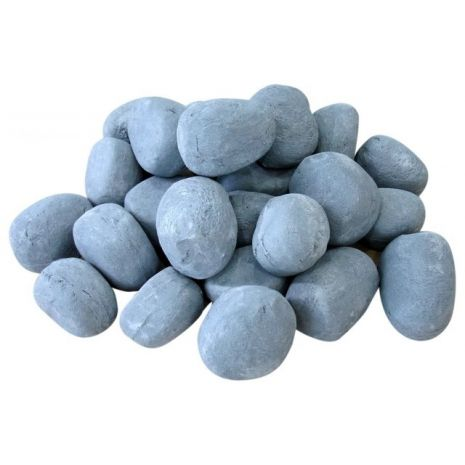 grey ceramic pebbles 24pcs